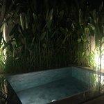 Pool Villa Room - Private pool at night