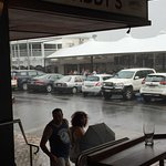 Raining...again