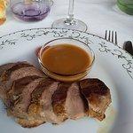 Repas au restaurant du Grand hôtel