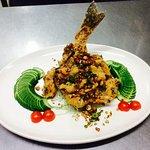 Salt & spicy Sea bass
