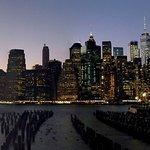 Manhattan skyline from Brooklyn Bridge Park.