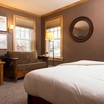 A Luxury Lodge Room at Mountain Top Resort
