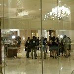 Just entering Taj Samudra Hotel Colombo