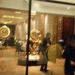 Entrance to Golden Dragon Rstaurant at Taj
