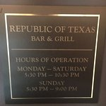 Photo of Republic of Texas Bar & Grill