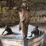 Portchester Castle, West Indian prisoners display