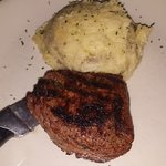 Angus Filet and Garlic Mashed Potatoes
