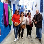 Happy customers in Chefchaouen