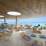 Tasi Grill is located right on the beach at Dusit Thani Guam Resort. Open to the public.