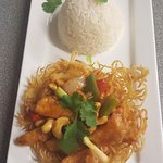 Thai and English foods