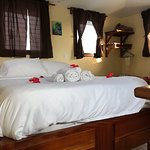 Upstairs bedroom in Maya Apartment