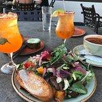 Beet Salad & Portuguese Sausage Soup