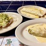 - chalupa - burrito - chile rellenos -