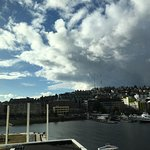 View of Lake Union from 4th floor