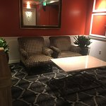 Lounge near the business center.