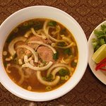 We have Pho noodle soup! Your choice of meat!