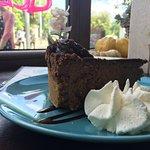 Sernik czekoladowy ze śliwką-boskoooo