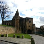 Approach to Dunfermline Abbey and Palace.