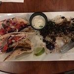 Grilled Baja fish tacos - yum!