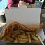 large haddock meal