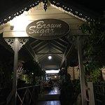 Night view of restaurant