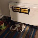 The broken safe