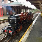 Ratty steam train