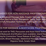 Classes for professionals and non-professionals