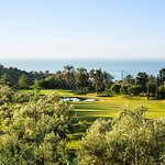 This is the 7th hole at Anoreta Golf Club in Rincon de la Victoria in Spain.