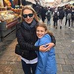 Mom and Daughter at the Machane Yehuda Market