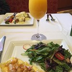 Bottomless mimosa, Lobster and Shrimp Omelette and Eggs Benedict:-)