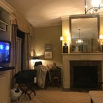 #402: Fireplace and TV
