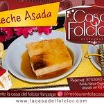 Deliciosa Leche Asado, postre delicioso.