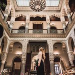 Majestic main lobby - for more travel inspiration follow me on Instagram @tatis.travel.tracks
