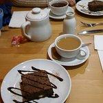 Cuppa and a Brownie.... NIce