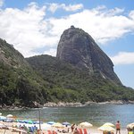 Beach with Pao de Acocar in the background