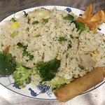 [Lunch] Veg Thai Basil Fried Rice