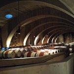 Wine cellar at Mission Hill