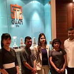 With the Quan Spa Team