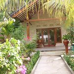 Superior double room in pelangi Cottages And Restaurant Gili Air