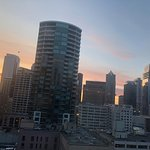 Good Morning Sun Rise in Seattle from 18th Floor
