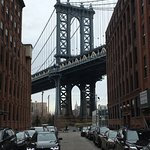 Manhattan Bridge from DUMBO in Brooklyn