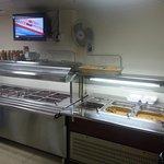 The food display