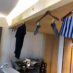 room became a make shift laundromat