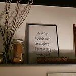 Helt korrekt en dag uden grin/smil er en spildt dag :-) i Skallerup kan man ikke andet end at sm