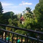 Blick von meinem Balkon