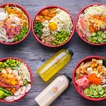 Poke bowls and Fresh Cold-Pressed Juices