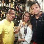 Rafa with Italian friends