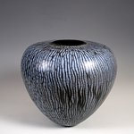 Object in ceramic by Roland Summer