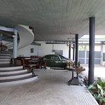 Entrée et garage de la maison